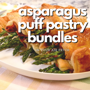How to make Asparagus Pancetta & Puff Pastry Bundles In Your Air Fryer