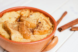 Pressure Cooker Bread Pudding