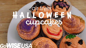 Halloween Cupcakes in the Air Fryer Oven