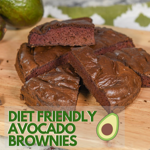 Diet-Friendly Avocado Brownies