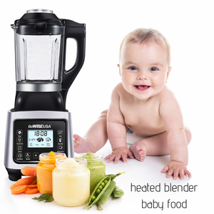How to make baby food in your heated blender