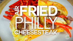 Air Fryer Philly Cheesesteak