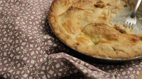 apple pie made in the pressure oven