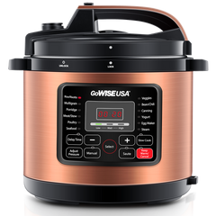 gowise usa pressure cooker copper