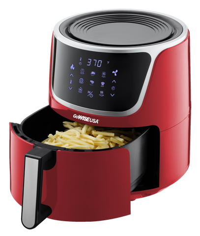 red-air-fryer
