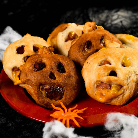 Air-Fryer-Halloweenie-Pockets