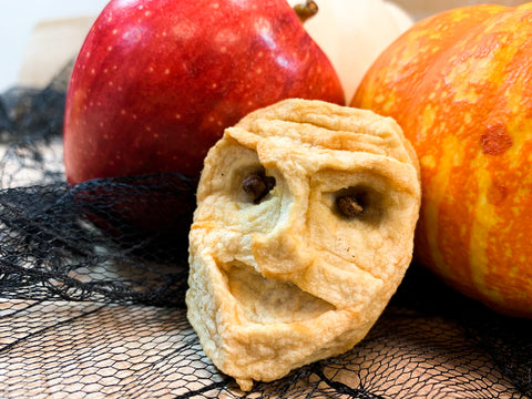 "Shrunken apple ""head"""