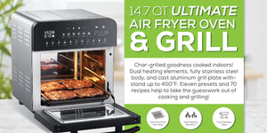 GoWISE USA Ultimate Air Fryer Grill!