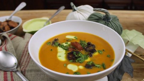 chipotle pumpkin soup