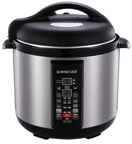 6-in-1 Electric Pressure Cooker/Slow Cooker (6 QT) GW22609