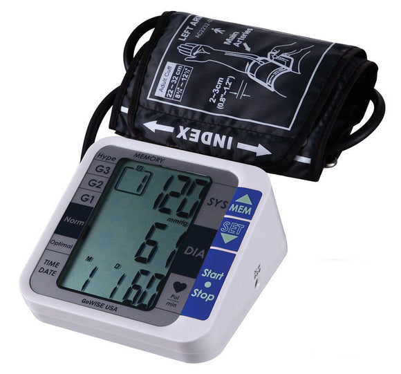 Digital Blood Pressure Monitor, GW22051 - GoWISE USA