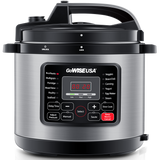 stainless steel 12-in-1 pressure cooker
