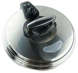 REFURBISHED Replacement Lid For 12/14 Qt. Pressure Cooker - GoWISE USA