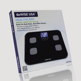 GoWISE USA Body Fat Scale - FDA Approved - Black GW22031