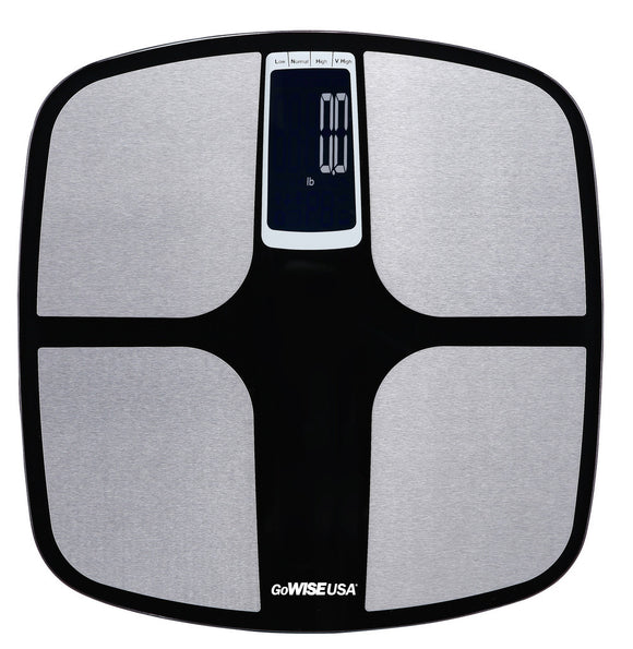 GoWISE USA Body Fat Scale w/ BIA Technology, FDA Listed