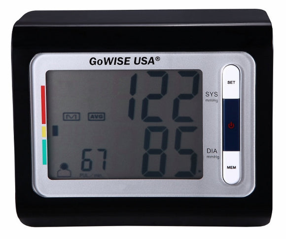 Digital Blood Pressure Monitor GW22058 - GoWISE USA