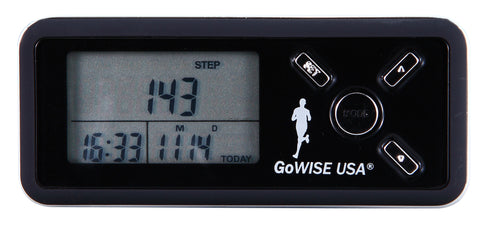 3D Sensor Technology Digital Pocket Pedometer