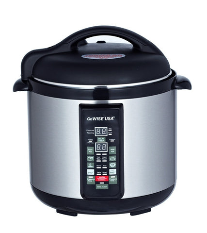 6-in-1 Electric Pressure Cooker/Slow Cooker (4 QT) GW22610