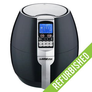 3.7-Quart 8-in-1 Air Fryer, Refurbished - GoWISE USA