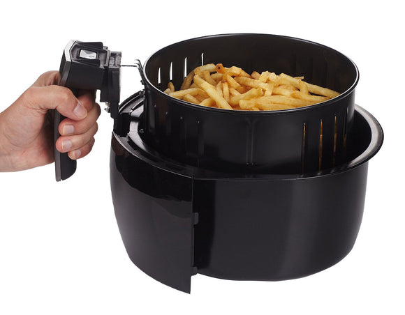 air fryer basket with handle