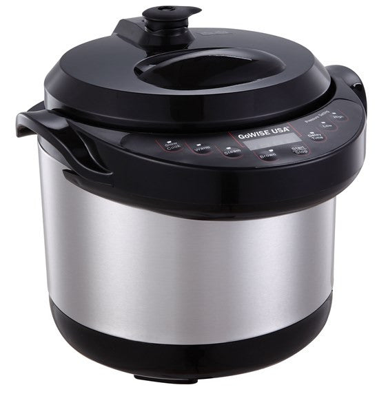 3 Quart 6 In 1 Electric Pressure Cooker Slow Cooker