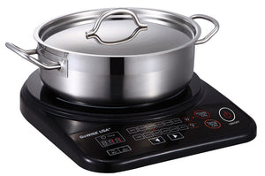 Portable Induction Cooktop with Stainless Steel Pan GW22616 - GoWISE USA