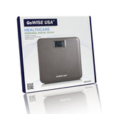 Electronic Personal Digital Scale w/ Step-On Technology - Brown GW22036