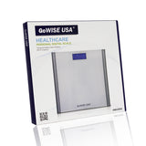 Digital Step-On Scale, Silver, GW22034 - GoWISE USA