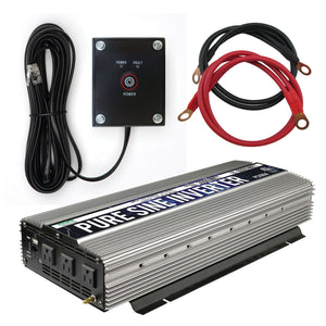 GoWISE Power Pure Sine Wave Inverter 3000W - GoWISE USA