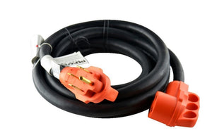 GoWISE Power 15' 50 Amp RV Extension cord w/ Handles - 50A  Male to 50A Female - GoWISE USA