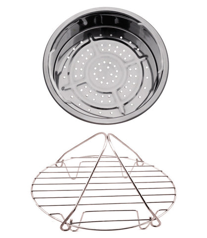 Pressure Cooker/Slow Cooker Stainless Steel Basket and Rack