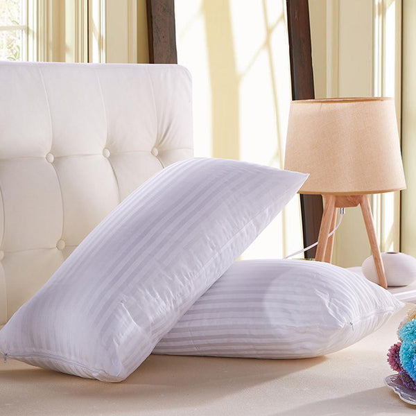 Bedding Pillow Polyester Bed Hotel Collection Soft Comfortable Sleep Health For Sleeping 669