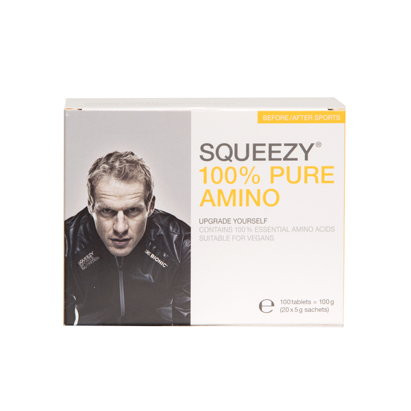 Squeezy 100% Pure Amino - 100 Tablets