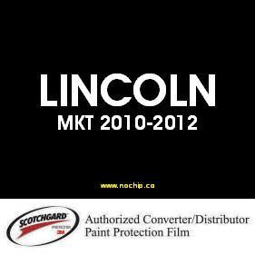 MKT  2010  2011  2012  LINCOLN  3M™ Scotchgard™ Paint Protection Film Kit
