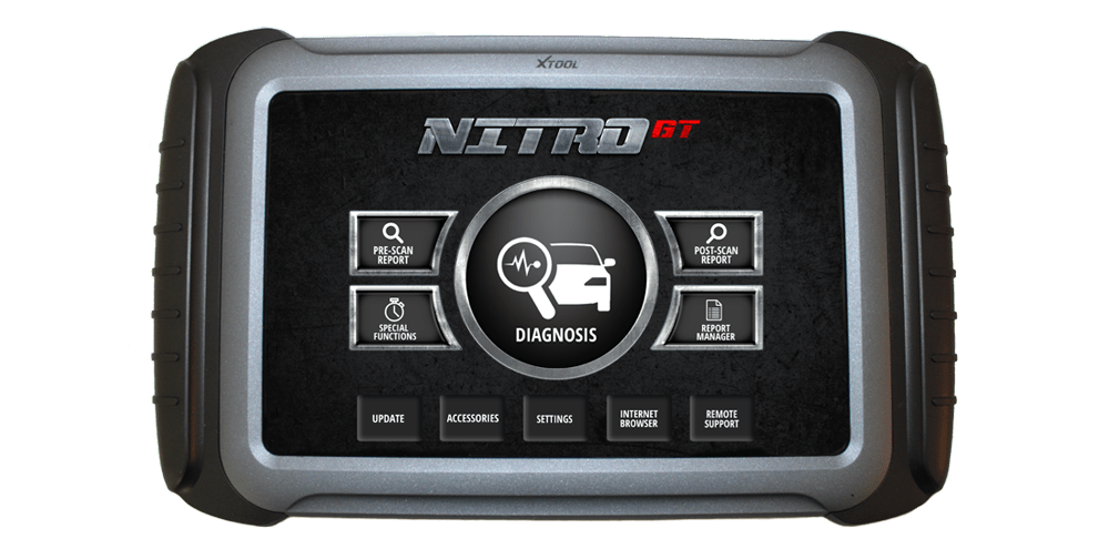 nitro diagnostic tablet