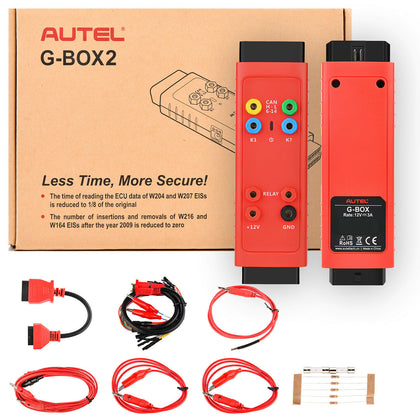 Autel G-BOX2 Key Programming Adapter for Mercedes and BMW Vehicle for Autel IM508 / IM608