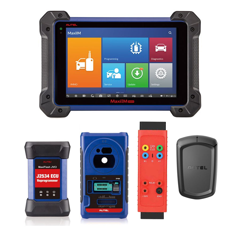 Autel MaxiIM IM608 Key Programming and Diagnostic Tool - GBOX2 & APB112 Included (USA Version)