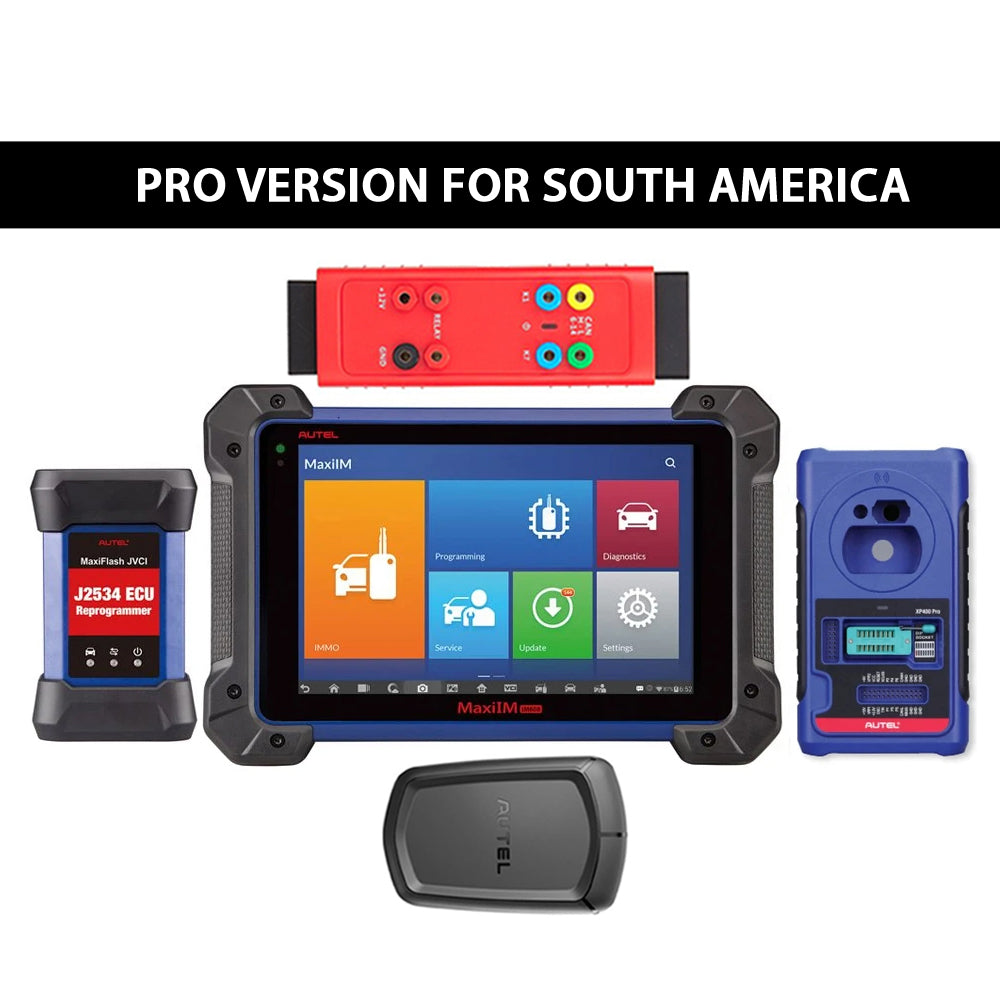 Autel MaxiIM IM608 Pro Key Programming and Diagnostic Tool Plus GBOX2 & APB112  (South America Version)