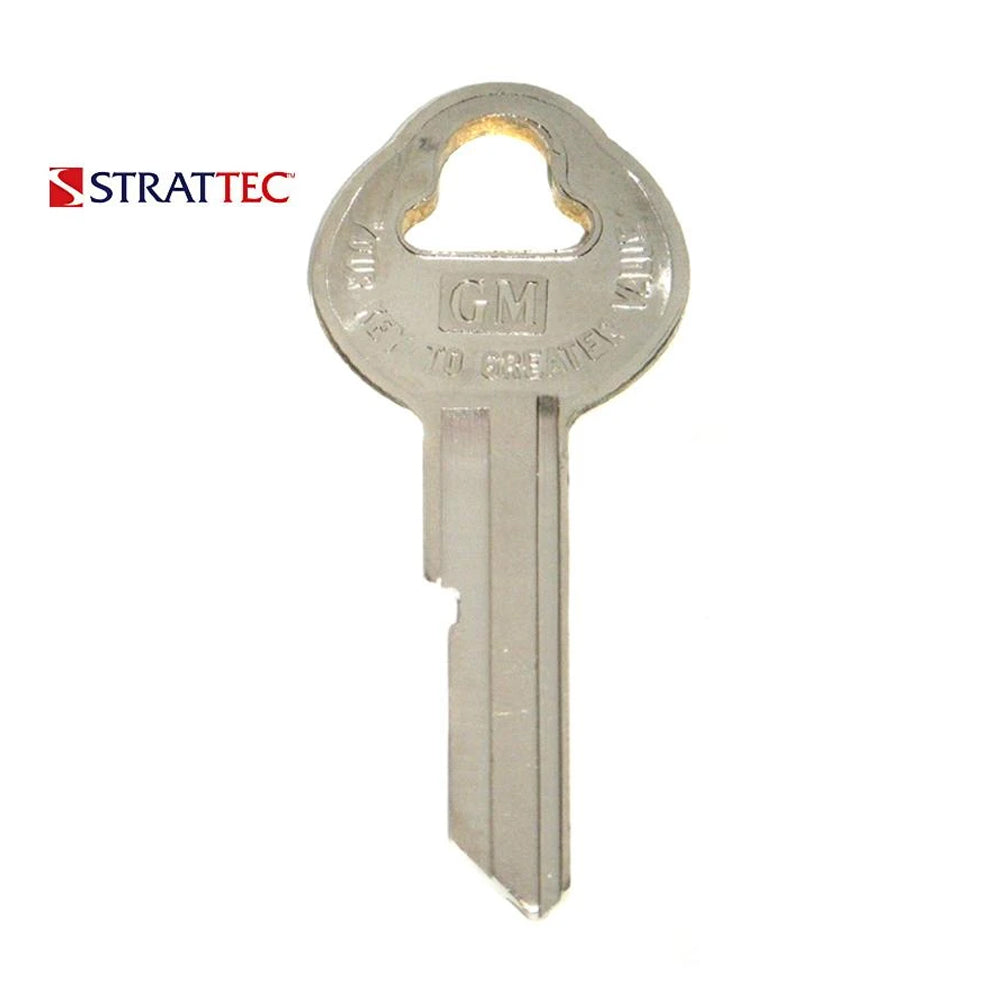 1935 - 1966 Strattec Buick Cadillac Chevrolet Pontiac Saturn Old Style Blank Key / 32319 / Packs of 10