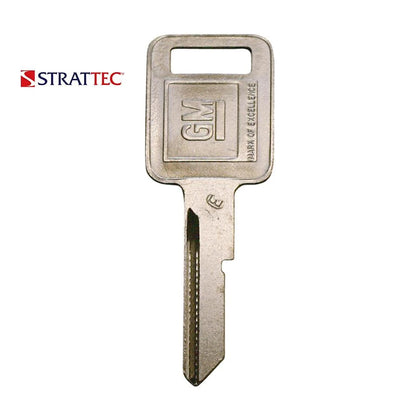 1970 - 2003 Strattec Buick Cadillac Chevrolet GMC Oldsmobile Pontiac 6 Cut Ignition Key Blank / B44E