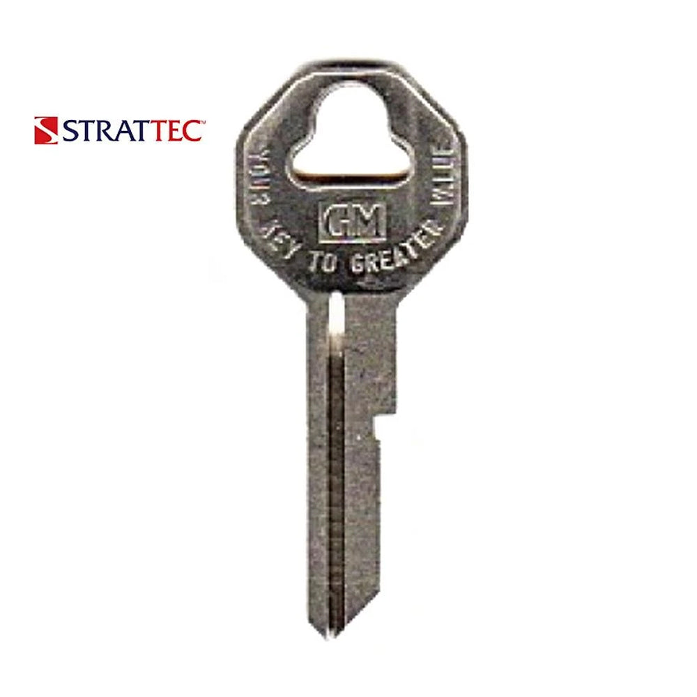 1935 - 1966 - Strattec GM (B10) Key Blank / 32318 (Packs of 10)