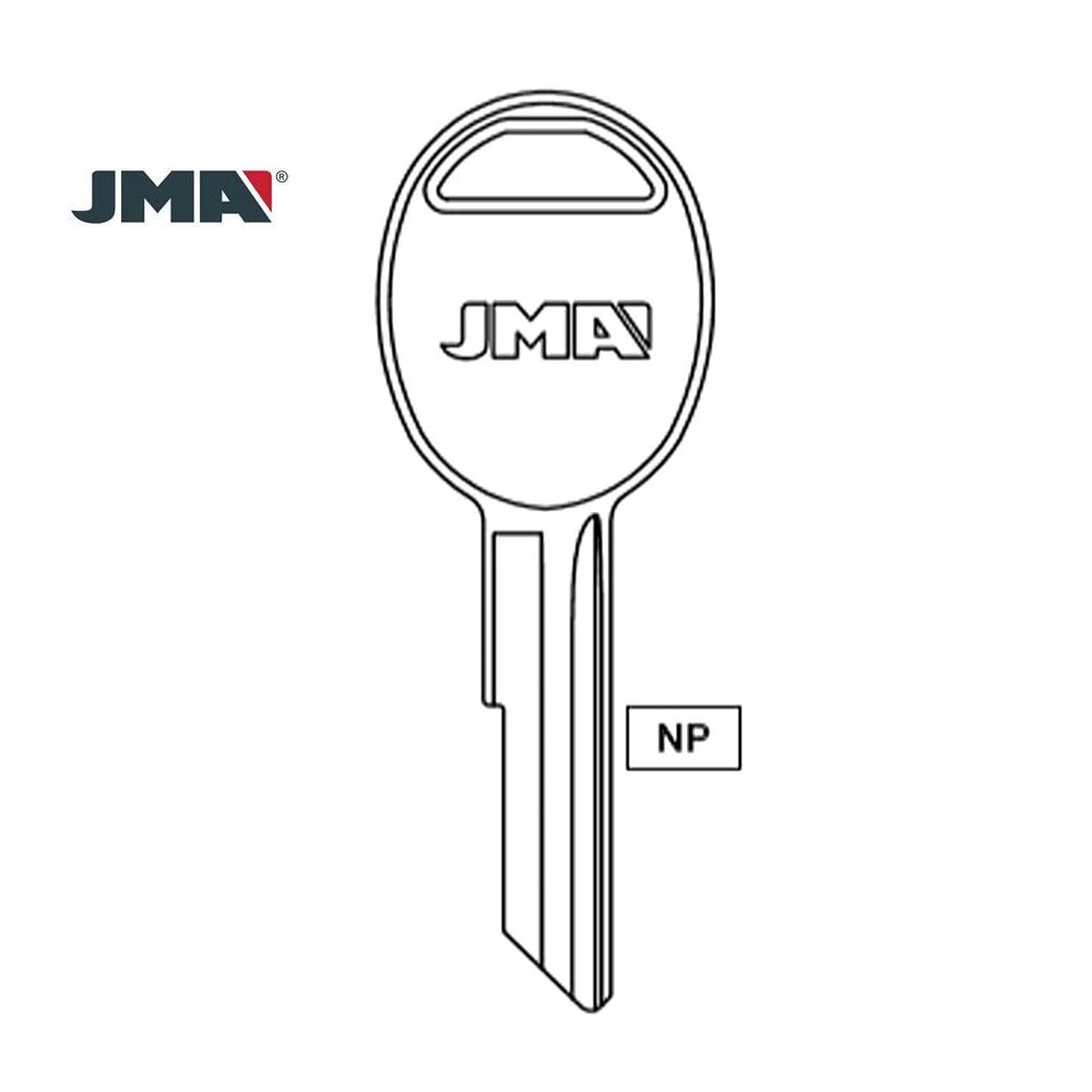 Chrysler Dodge Jeep Key Blank - RA3 / AMM-2 (Packs of 10)