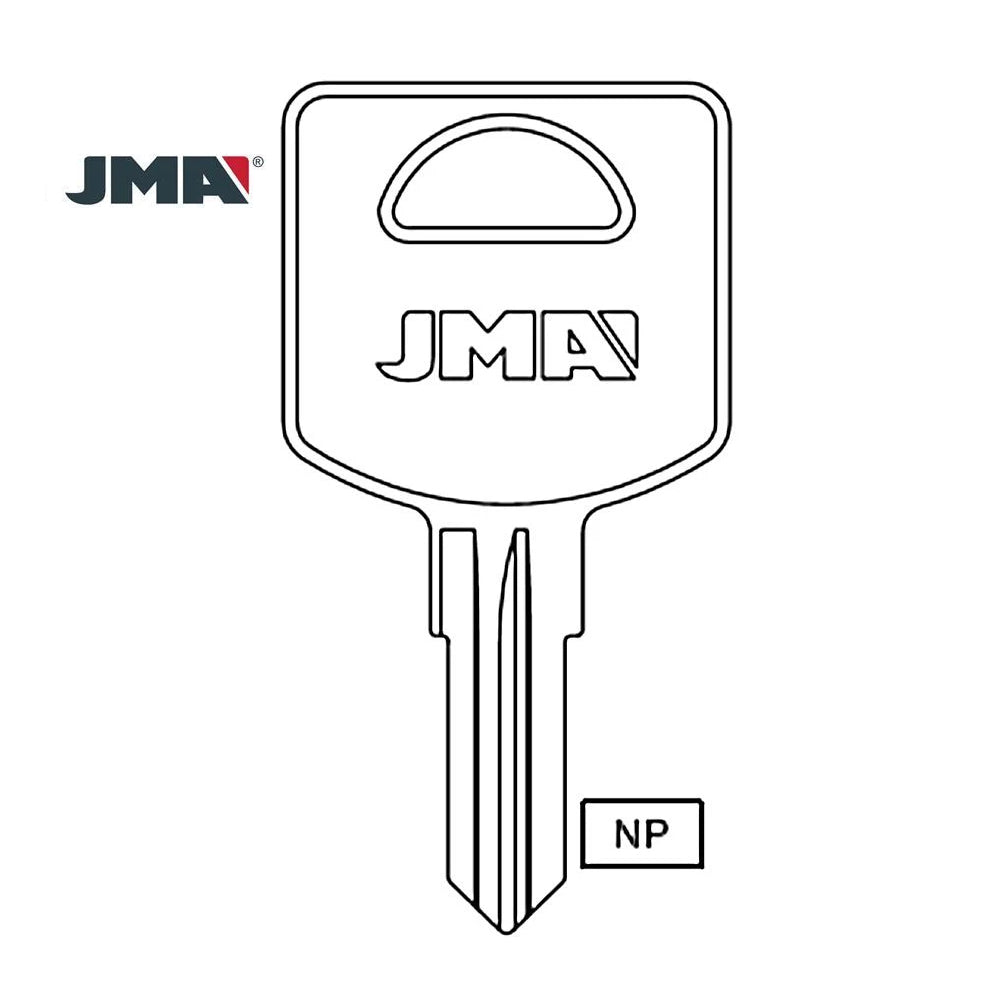 Commercial & Residential Lock Key Blank - FIC1 / FCS-1D (Packs of 50)