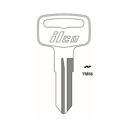 Yamaha Motorcycle Key Blank - YAMA-16I / YM56 (Packs of 10)