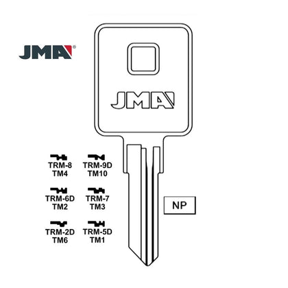 1601 Trimark Key Blank TM1 / TRM-5D (Packs of 10)