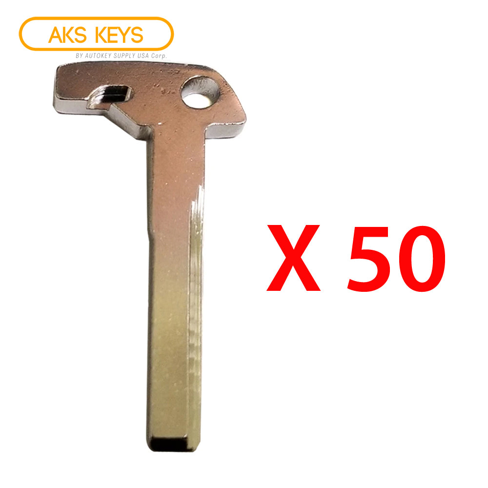 2010 + Mercedes Benz Emergency Key (50 Pack)