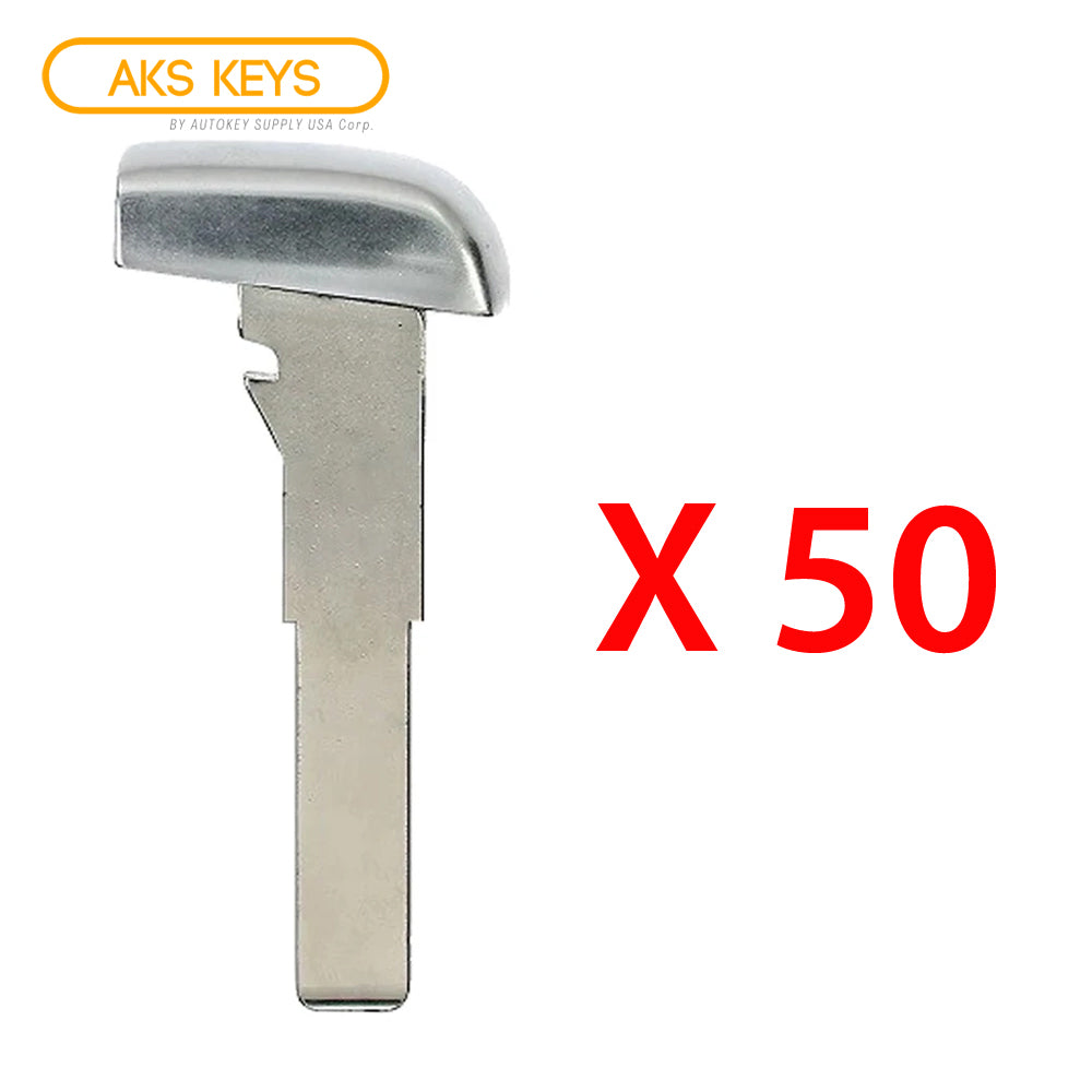 2015 - 2018 Jeep Fiat High Security Emergency Key (50 Pack)