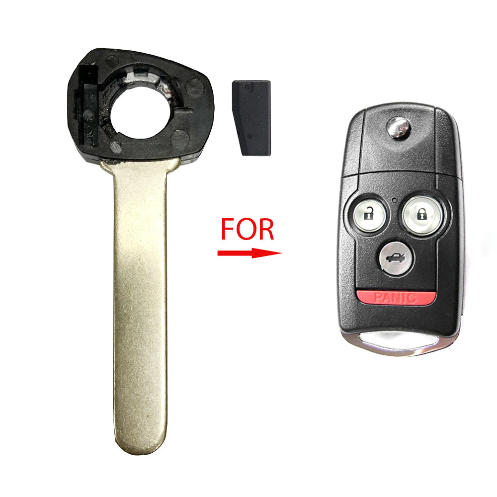 2007 - 2013 Acura Remote Flip Key With Chip