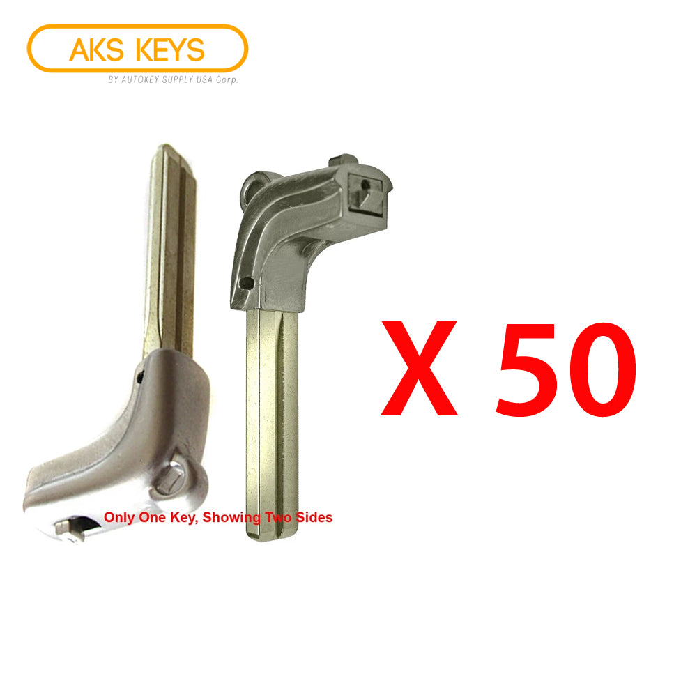 2006 - 2008, 2010 - 2015 Lexus Emergency Key Serie 40K (LX40) (50 Pack)
