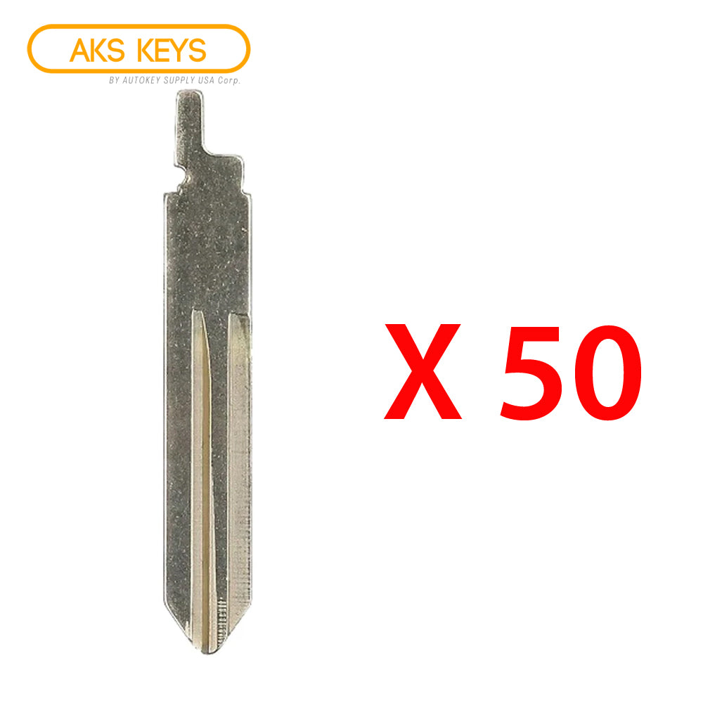 2014 - 2018 Nissan Rogue Key Blade (50 Pack)